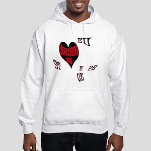 Heart steno Hoodie