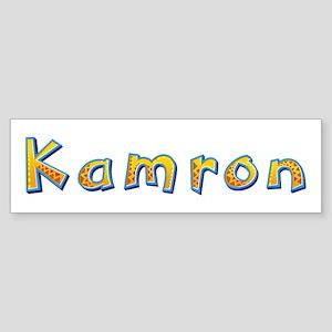 Kamron Giraffe Bumper Sticker