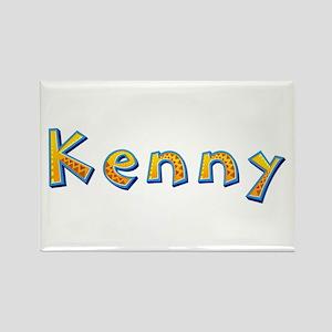 Kenny Giraffe Rectangle Magnet