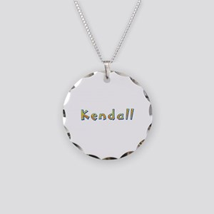 Kendall Giraffe Necklace Circle Charm