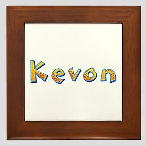 Kevon Giraffe Framed Tile