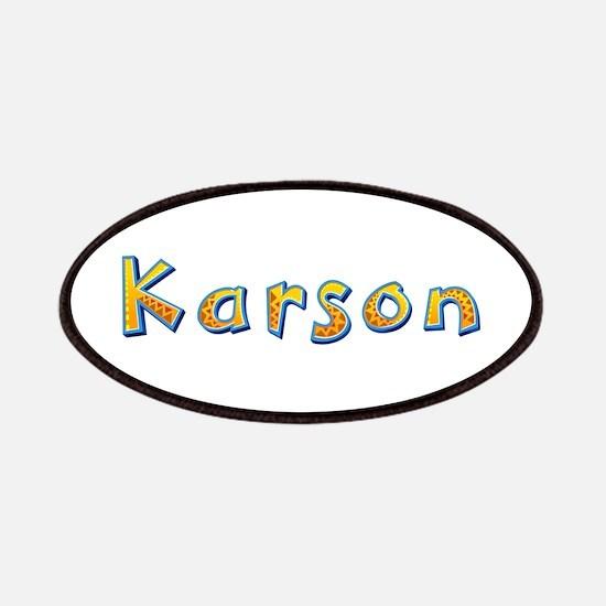 Karson Giraffe Patch