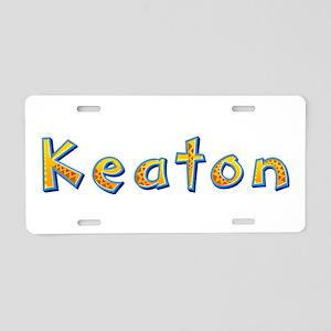 Keaton Giraffe Aluminum License Plate