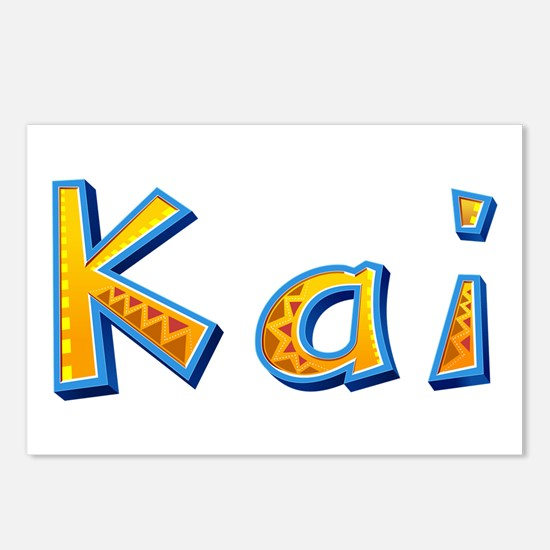 Kai Giraffe Postcards 8 Pack