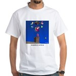 Reindeer Get a Better Gig White T-Shirt