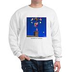 Reindeer Get a Better Gig Sweatshirt
