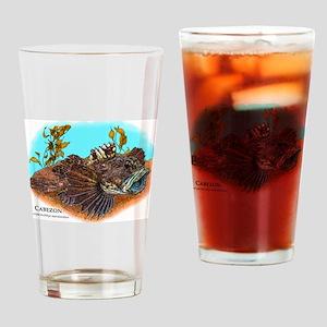 Cabezon Drinking Glass