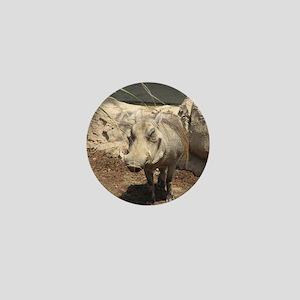 Warthog Grin Mini Button