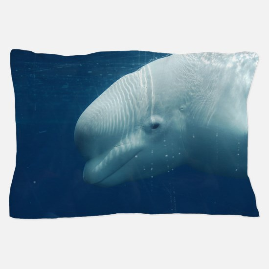 White Whale Pillow Case