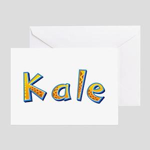 Kale Giraffe Greeting Card