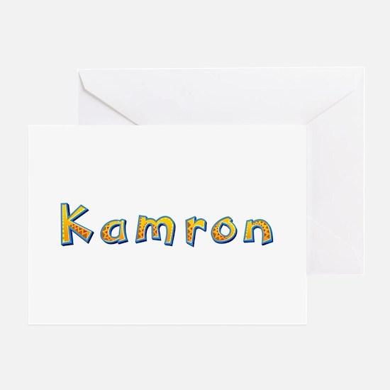 Kamron Giraffe Greeting Card