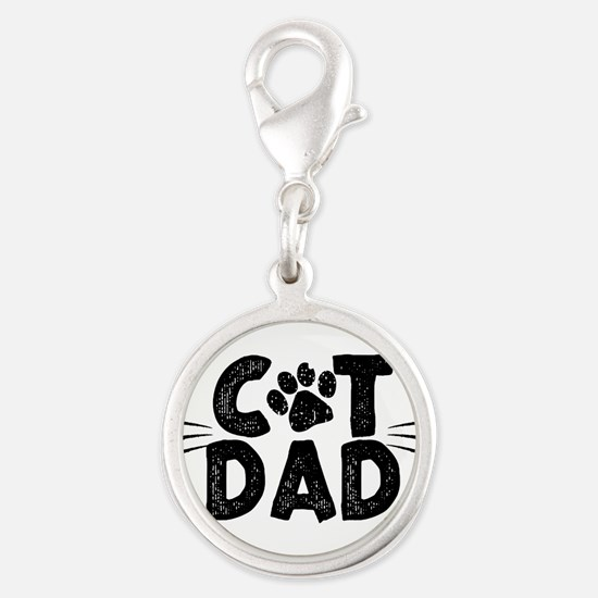 Cat Dad Charms