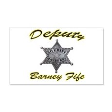 Barney Fife Mayberry Deputy Wall Decal