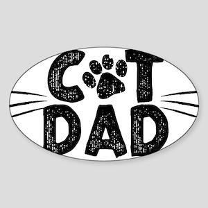 Cat Dad Sticker