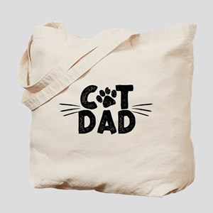 Cat Dad Tote Bag