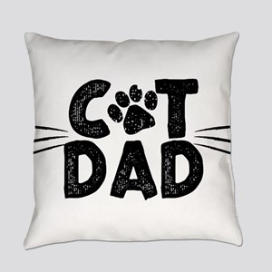 Cat Dad Everyday Pillow