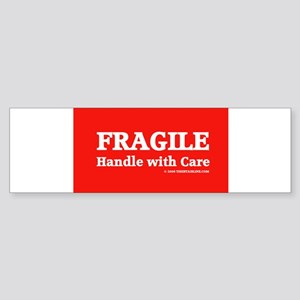 fragile Bumper Sticker