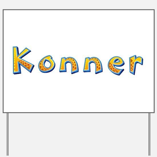 Konner Giraffe Yard Sign