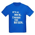 My Deck My Rules Kids Dark T-Shirt