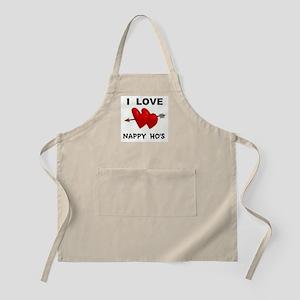LOVE NAPPY  BBQ Apron