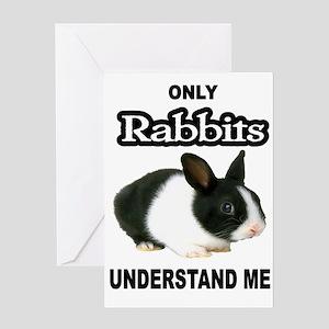 RABBITS Greeting Cards