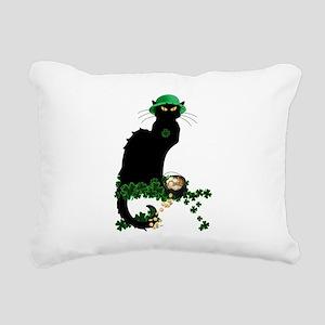 Le Chat Noir, St Patricks Day Rectangular Canvas P