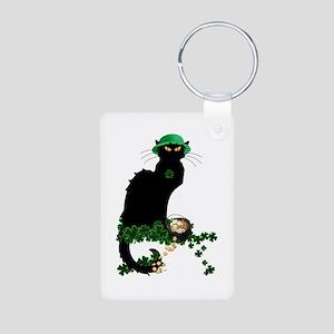 Le Chat Noir, St Patricks Day Keychains