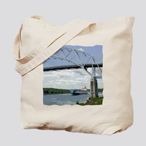 Canal and Bridge Tote Bag