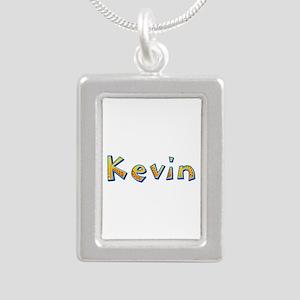 Kevin Giraffe Silver Portrait Necklace