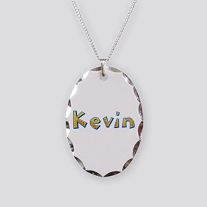 Kevin Giraffe Oval Necklace