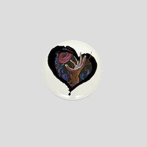 Hope - heart Mini Button