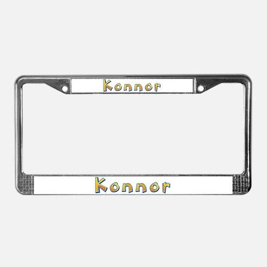 Konnor Giraffe License Plate Frame