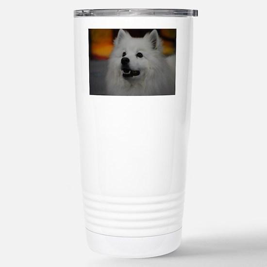 American Eskimo Dog Stainless Steel Travel Mug