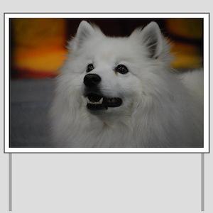 American Eskimo Dog Yard Sign