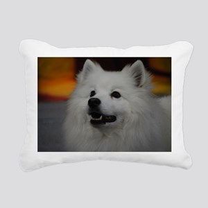 American Eskimo Dog Rectangular Canvas Pillow