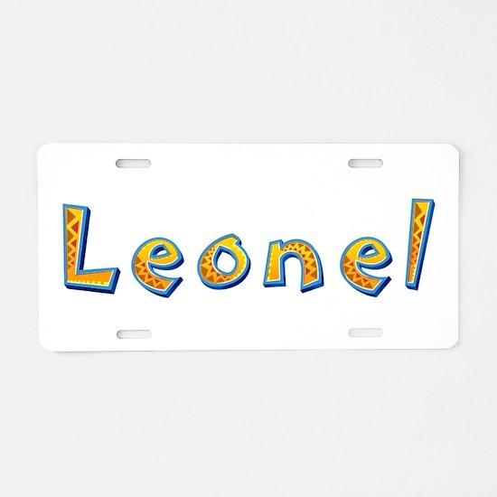 Leonel Giraffe Aluminum License Plate