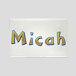 Micah Giraffe Rectangle Magnet