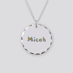 Micah Giraffe Necklace Circle Charm