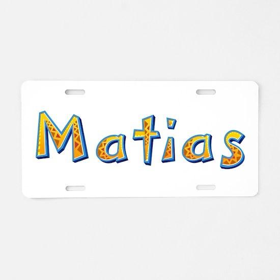Matias Giraffe Aluminum License Plate