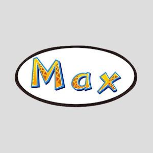 Max Giraffe Patch