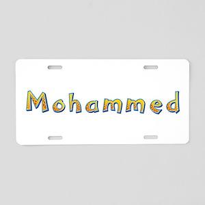 Mohammed Giraffe Aluminum License Plate