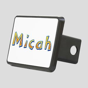 Micah Giraffe Rectangular Hitch Cover
