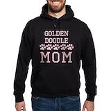 Golden doodle Dark Hoodies