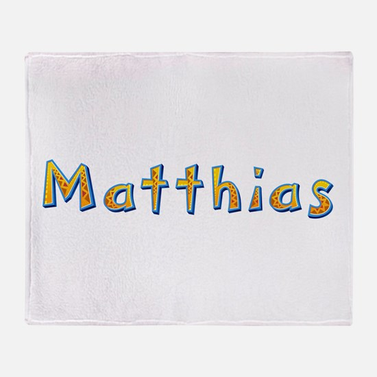 Matthias Giraffe Throw Blanket