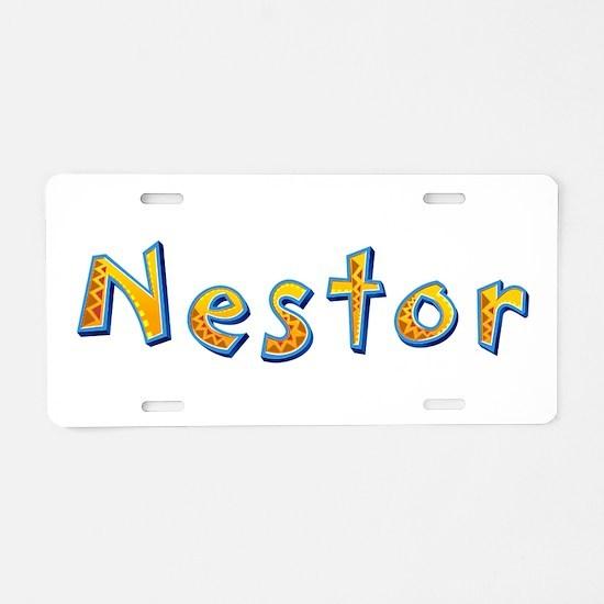 Nestor Giraffe Aluminum License Plate