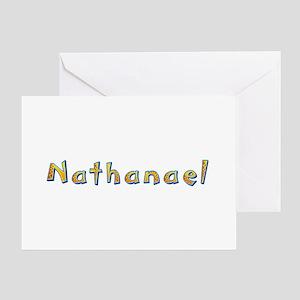 Nathanael Giraffe Greeting Card