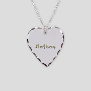 Nathan Giraffe Heart Necklace
