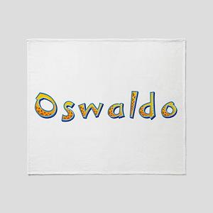 Oswaldo Giraffe Throw Blanket
