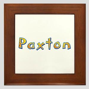 Paxton Giraffe Framed Tile