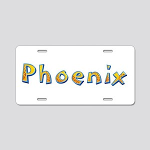 Phoenix Giraffe Aluminum License Plate
